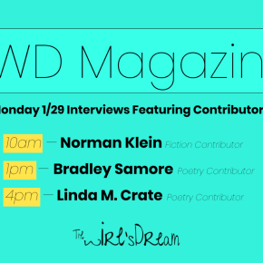 TWD Magazine 3rd Collection Interviews For Monday 1/29
