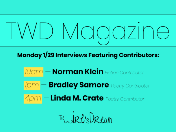 TWD Magazine Upcoming Interviews